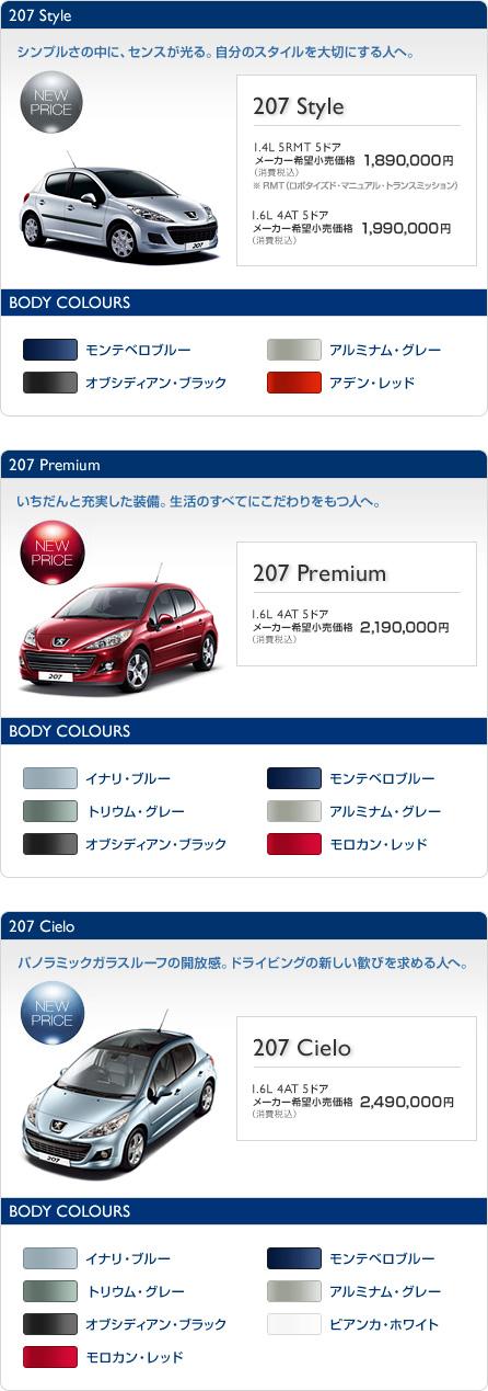 New207 PRICE