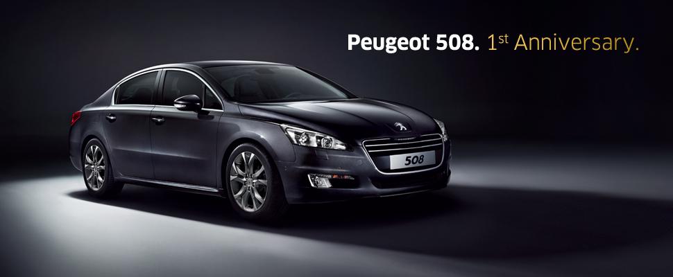 PEUGEOT 508 1st Anniversary