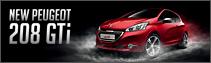 NEW PEUGEOT 208 GTi Debut!