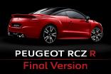 PEUGEOT RCZ R Final Version