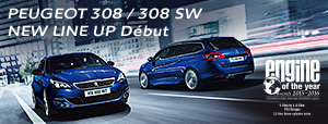 PEUGEOT 308 / 308 SW NEW LINE UP Début!