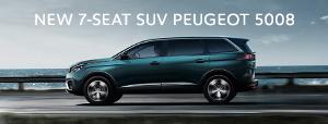 NEW 7-SEAT SUV PEUGEOT 5008