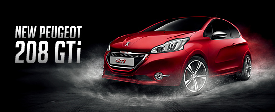 NEW PEUGEOT 208 GTi Debut!_ブログ用