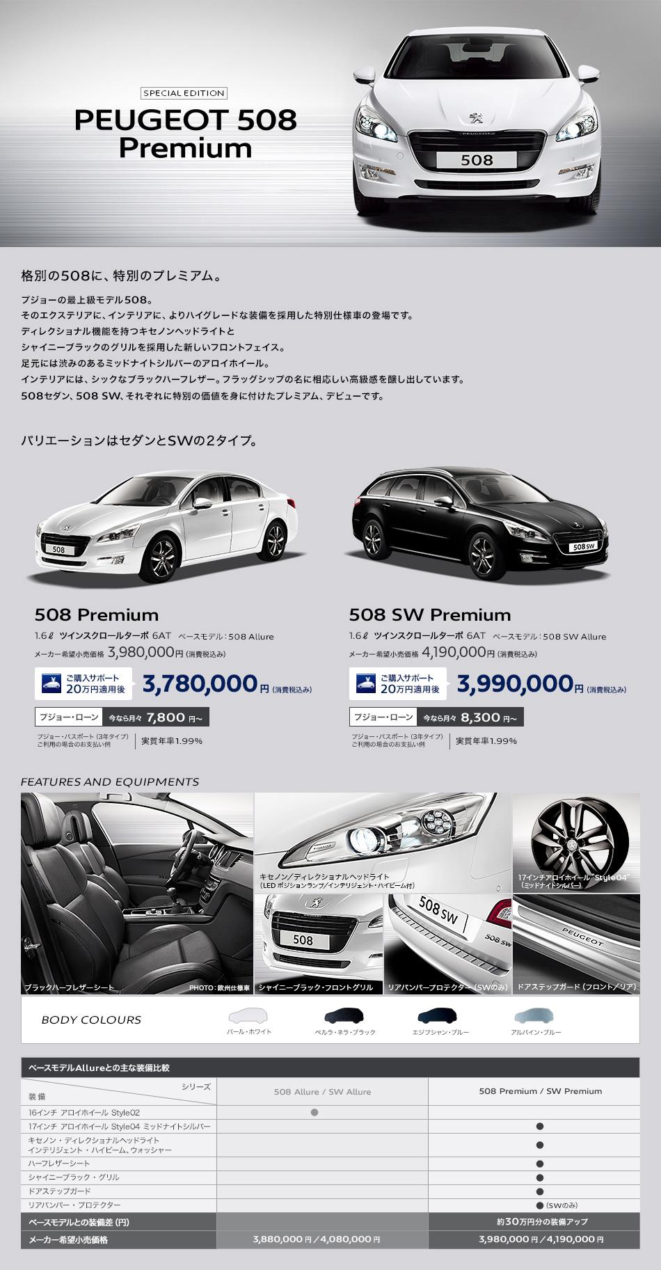 PEUGEOT 508 Premium_セクション1