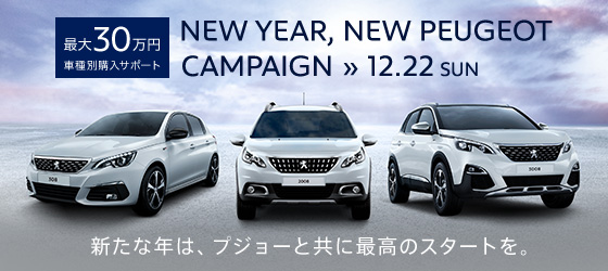 NEW YEAR, NEW PEUGEOT CAMPAIGN ≫ 12.22 SUN