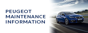 PEUGEOT MAINTENANCE INFORMATION