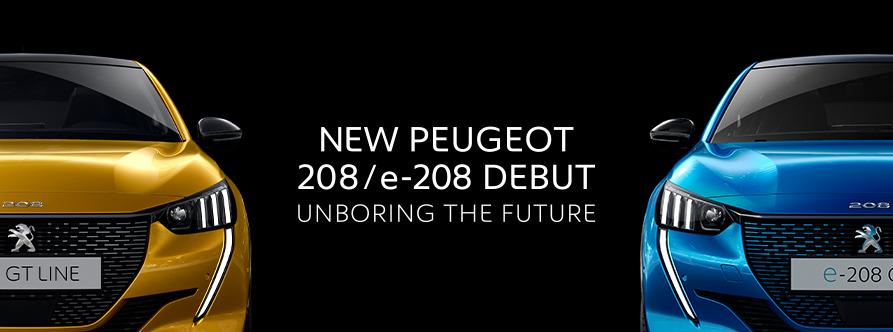 NEW PEUGEOT 208/e-208 DEBUT