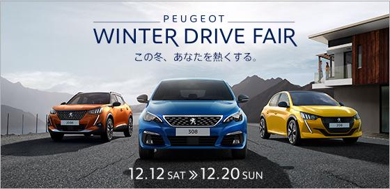 PEUGEOT WINTER DRIVE FAIR 12.12 SAT >> 12.20 SUN